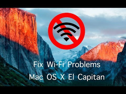Fix Wi Fi Problems In Mac OS X El Capitan 10 11