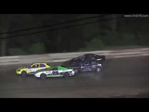 "Hilltop Speedway ""Michael Rose Memorial"" Mini Stock Feature 7-12-19"
