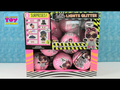 lol-surprise-lights-glitter-full-case-unboxing-#1-doll-review-|-pstoyreviews