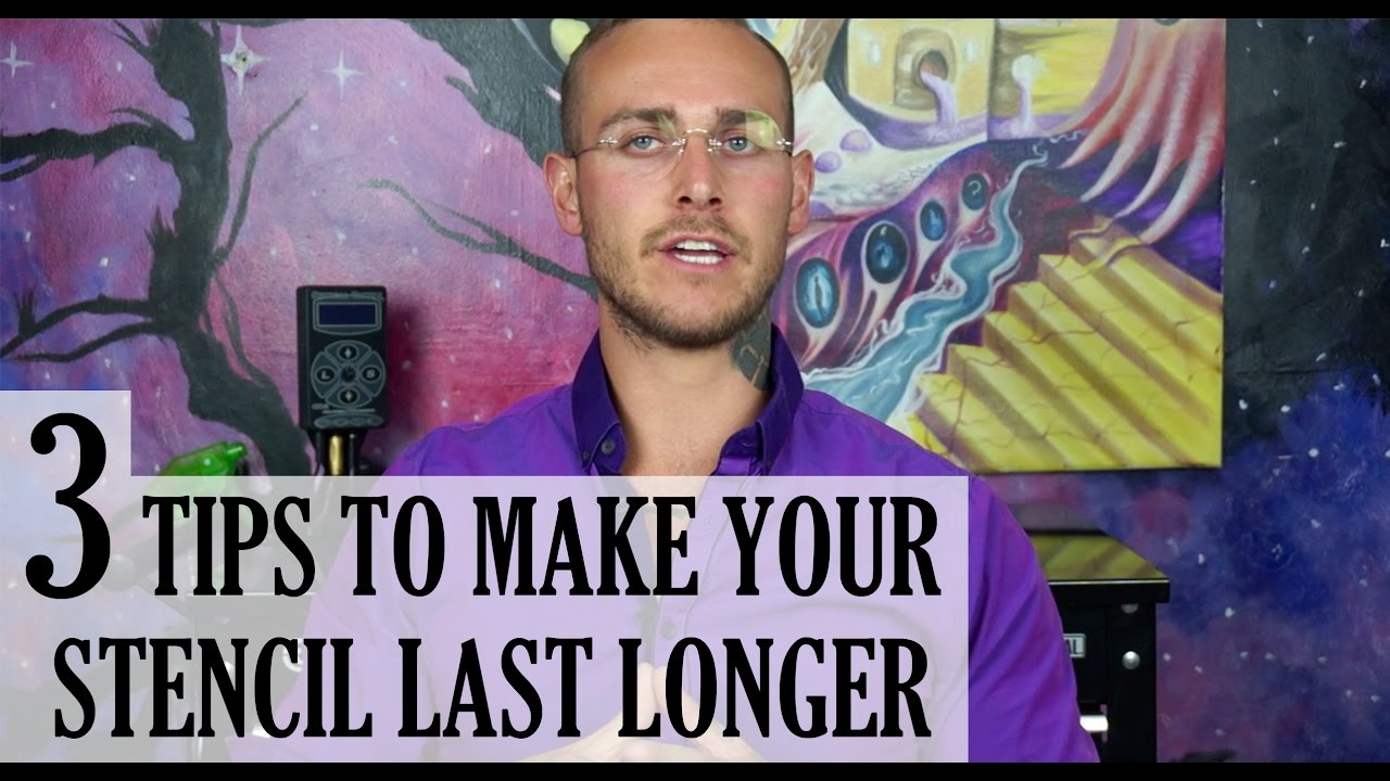 48f97e27053 3 Tips To Make Your Tattoo Stencil Last Longer - Tutorial - YouTube