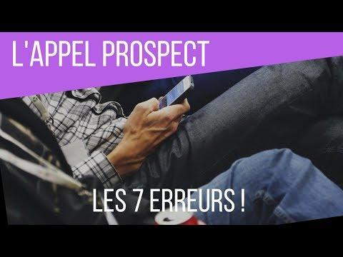 Live 20 - L'Appel Prospect : Quelles sont les ERREURS à éviter ?