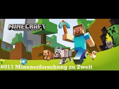 Minecraft PS Lets Play Minenerforschung Zu Zweit YouTube - Minecraft zusammen spielen ps3