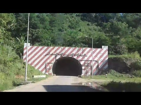 National Highway 54 approaching tunnel between Mahur and Maibang, Dima Hasao district, Assam, India