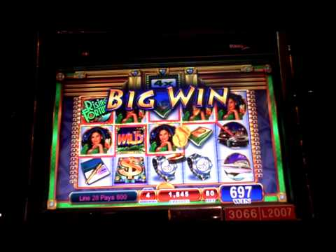 Rising Fortunes Bonus Penny Slot Machine Win