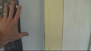 How To Re-screen And Wooden Screen Door