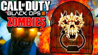 "Black Ops 3 ""SECRET DOOR EASTER EGG"" - Zombies Magic Button, Mark of The Beast & MORE!"
