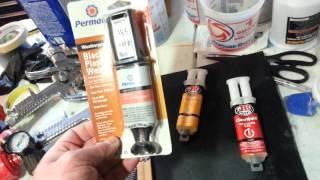permatex plastic weld testing
