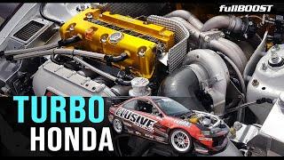 TURBO Honda K24 time attack Integra | fullBOOST