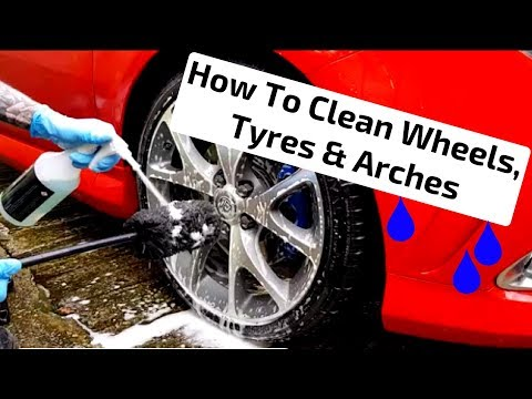 How To Clean Wheels, Tyres & Arches. Wheel Regime Explained