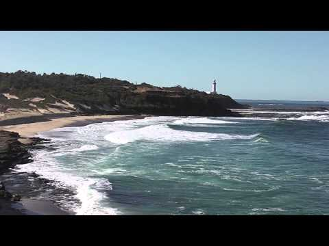 Waves on beach - Norah Head, NSW, Australia. HD. No music, natural sound.