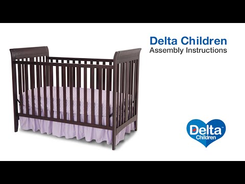 Delta Children Parkside & Bayside 3-in-1 Crib Assembly Video
