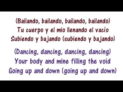 Enrique Iglesias   Bailando   Dancing    English And Spanish
