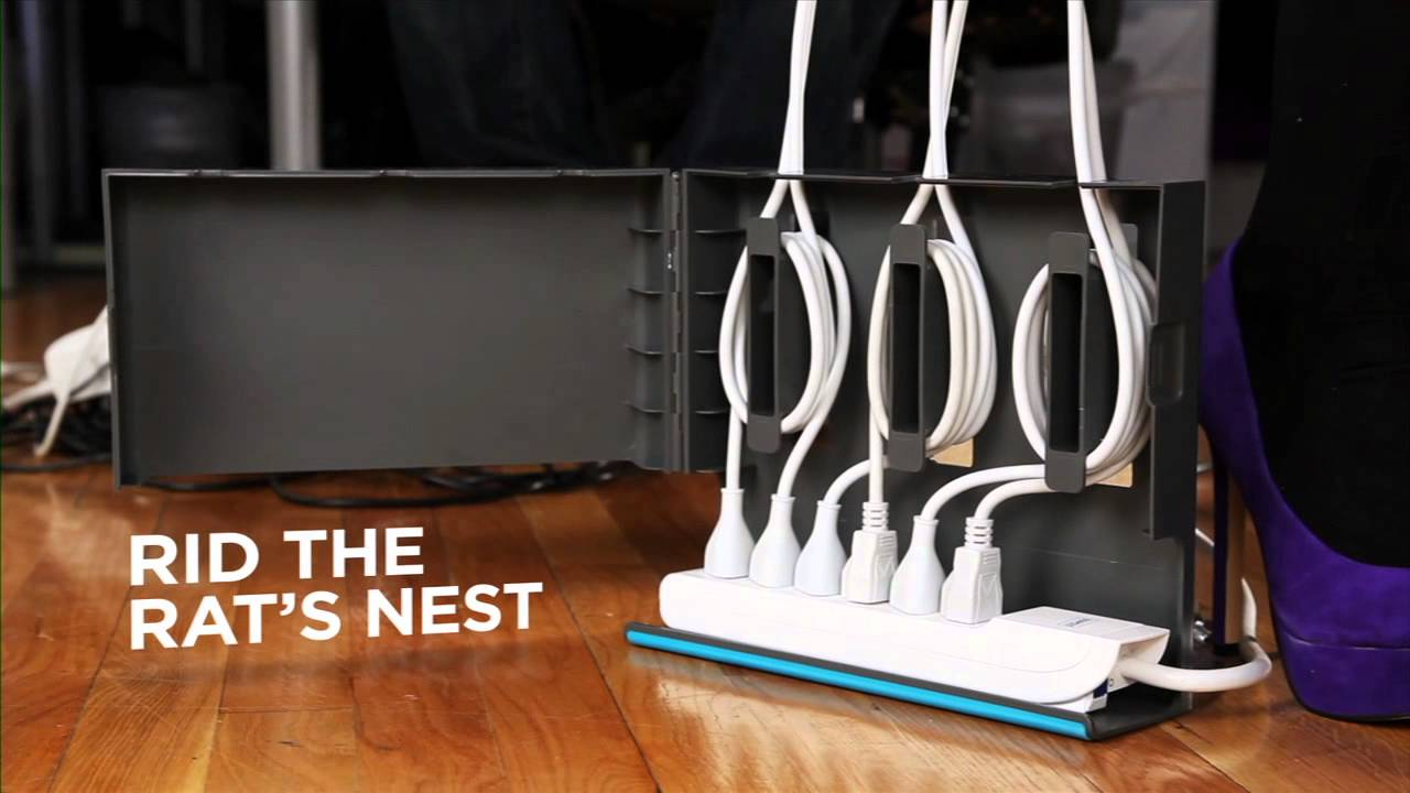 The Plug Hub Cable Management Station From Quirky Youtube