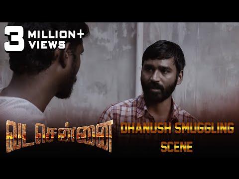 VADACHENNAI - Dhanush Smuggling Scene   Dhanush   Ameer   Andrea Jeremiah   Vetri Maaran