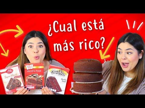 Poniendo a Prueba 3 Diferentes Cajas de Pastel de Chocolate |RebeO