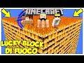 La Sfida Dei Lucky Block Giganti Di Fuoco! - Minecraft Ita