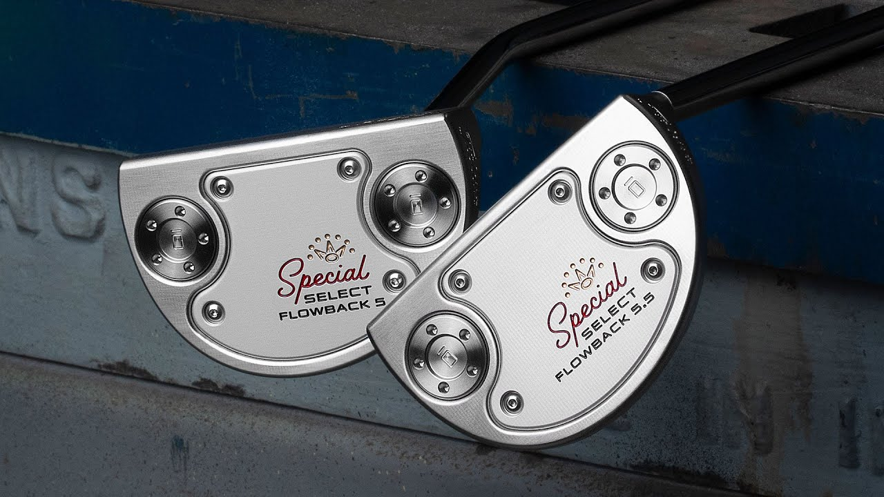 Special Select Flowback 5 & 5.5 - Classic Lines. Modern Performance. I Scotty Cameron Putters
