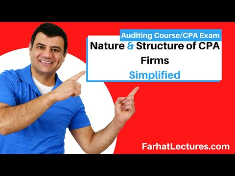 Nature and Structure of CPA Firms | Auditing and Attestation | CPA Exam