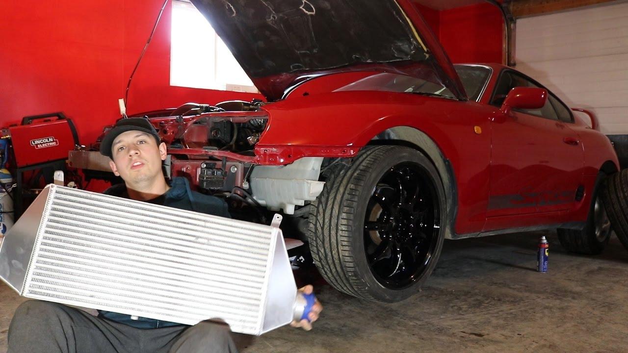 8c3968965c80 Supra Gets Huge ETS Intercooler. Boosted Lifestyle