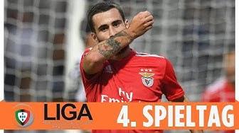 Benfica Lissabon weiter Spitzenreiter | Highlights | Liga NOS - 4. Spieltag