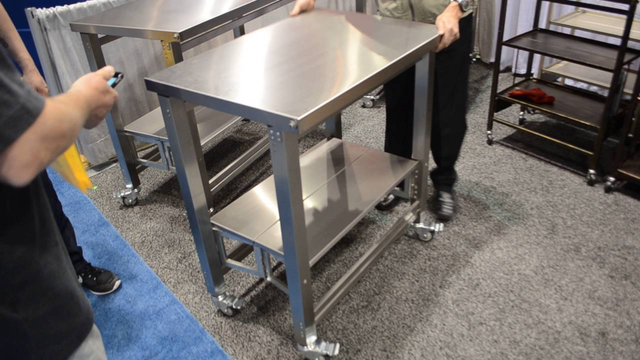 - Foldable Stainless Steel Tables - YouTube