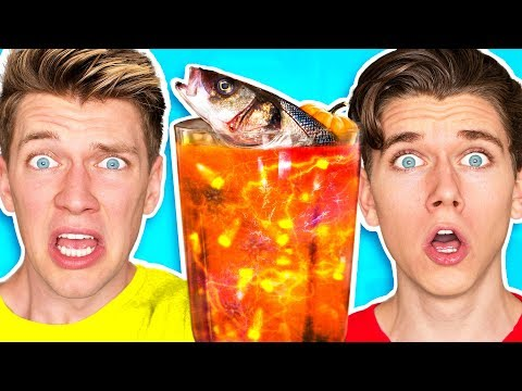Thumbnail: The Smoothie Challenge! *GOOD vs. GROSS* Learn DIY Edible Real Gummy Food Sour Candy Drink How To