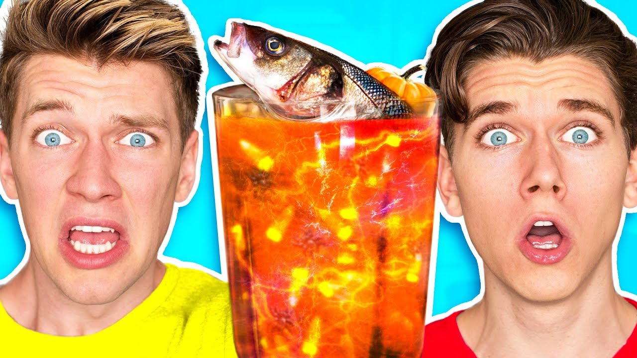 [VIDEO] - The Smoothie Challenge! *GOOD vs. GROSS* Learn DIY Edible Real Gummy Food Sour Candy Drink How To 8
