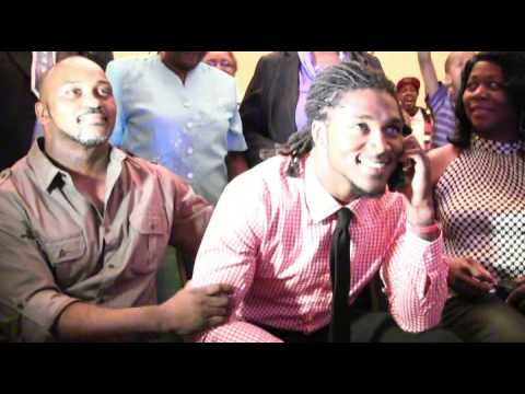 Raw video: DJ Swearinger drafted by Houston Texans
