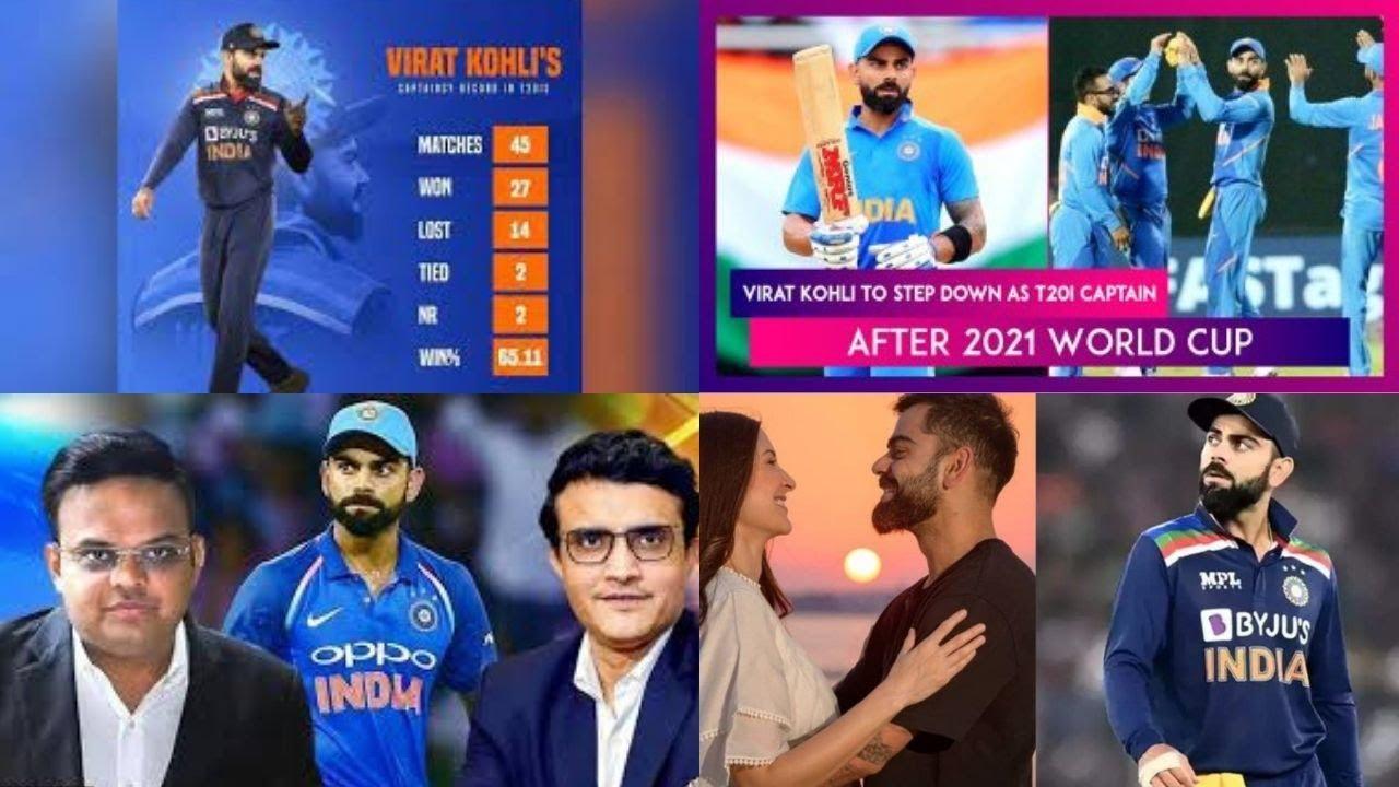 What is Virat Kohli's record as India's T20I captain?