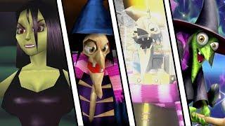 Evolution of Gruntilda from Banjo Kazooie ( 1998 - 2019)