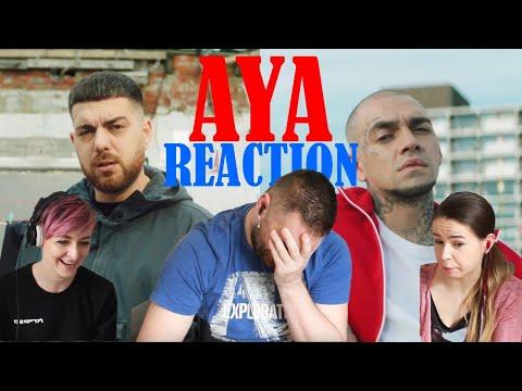 Reaction to Murda & Ezhel - Aya / Turkish rap