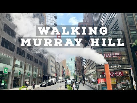 ⁴ᴷ⁶⁰ Walking New York City Streets as Reopening Continues | Murray Hill