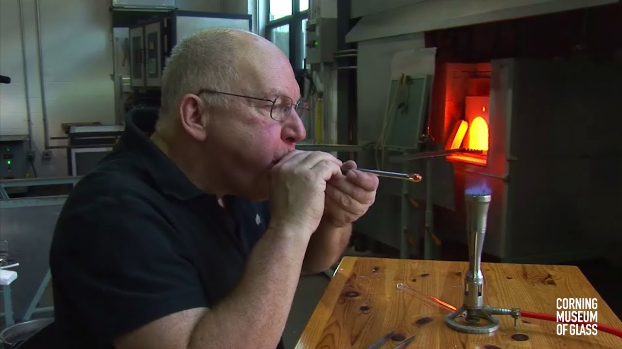 Making Glass Tubes with a Bubble on the End