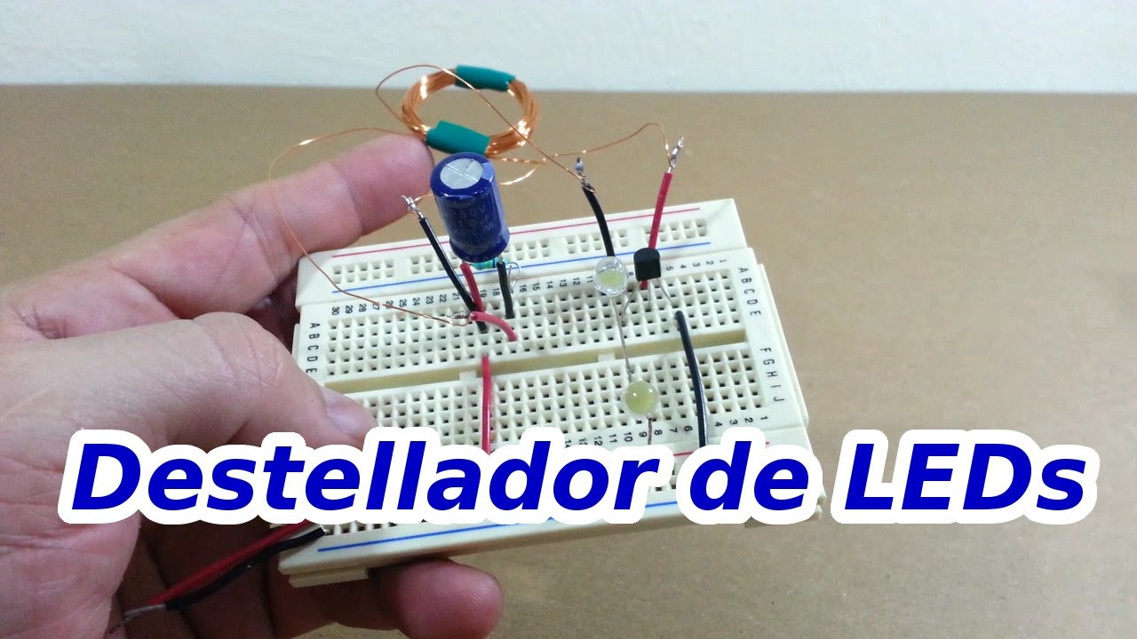 Circuito Led Intermitente : Circuito para leds intermitentes viyoutube