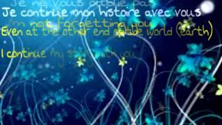 Céline Dion- Je Ne Vous Oublie Pas (Eng. & French)