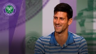 Novak Djokovic Wimbledon 2017 pre-tournament press conference