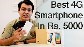 Yu Yunique VS Lenovo A2010 VS Phicomm Energy 653- Best Budget 4G Smartphone Under Rs. 5000