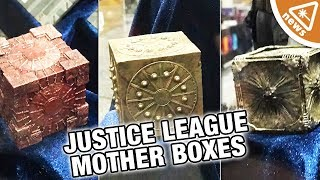 Are Justice League's Mother Boxes the DCEU's Infinity Stones? (Nerdist News w/ Jessica Chobot)