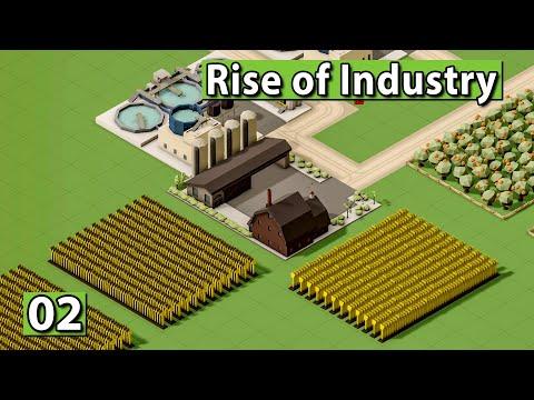 RISE of INDUSTRY 🏭 Produktion und Skills im Detail ► #2 ► WiSim Gameplay deutsch german