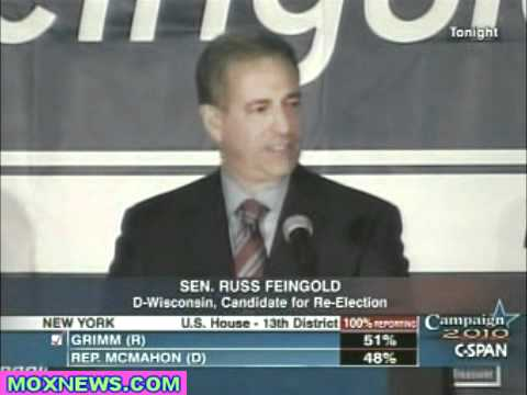 Senator Russ Feingold Concession Speech