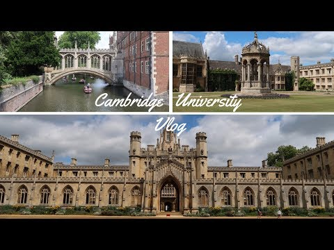 Visiting Cambridge University | Vlog