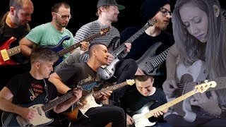 The Best Guitar Players on YouTube (and me) EPIC JAM