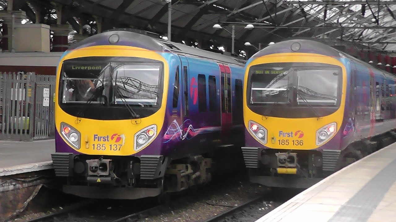 Trains At Liverpool Lime Street 2 9 16