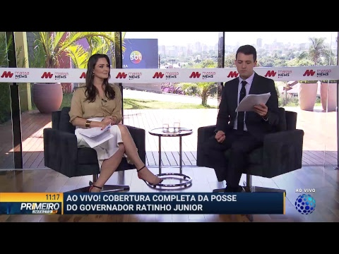 Posse de Ratinho Júnior, governador do Paraná - Primeiro Impacto PR (01/01/19)