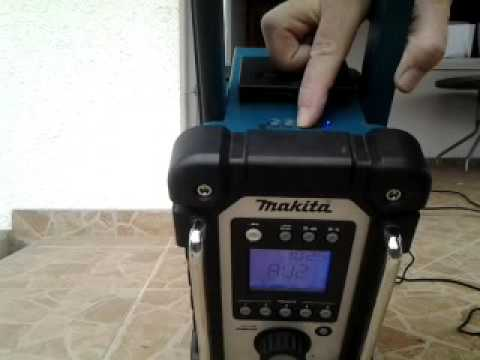 makita radio sd card usb mp3 tuning youtube. Black Bedroom Furniture Sets. Home Design Ideas
