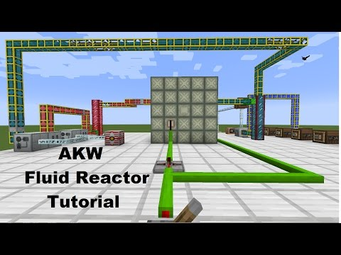 AKW Tutorial - Fluid Reactor - Minecraft 1.7.10 + Industrial Craft 2 Nuclear Reactor