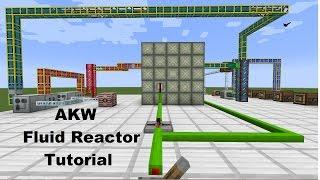 AKW Tutorial - Fluid Reactor - Minecraft 1.7.10 + Industrial Craft 2 Nuclear Reactor