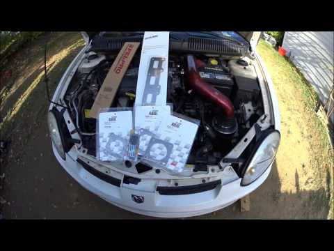 srt4 exhaust manifold gasket replacement and broken stud removal