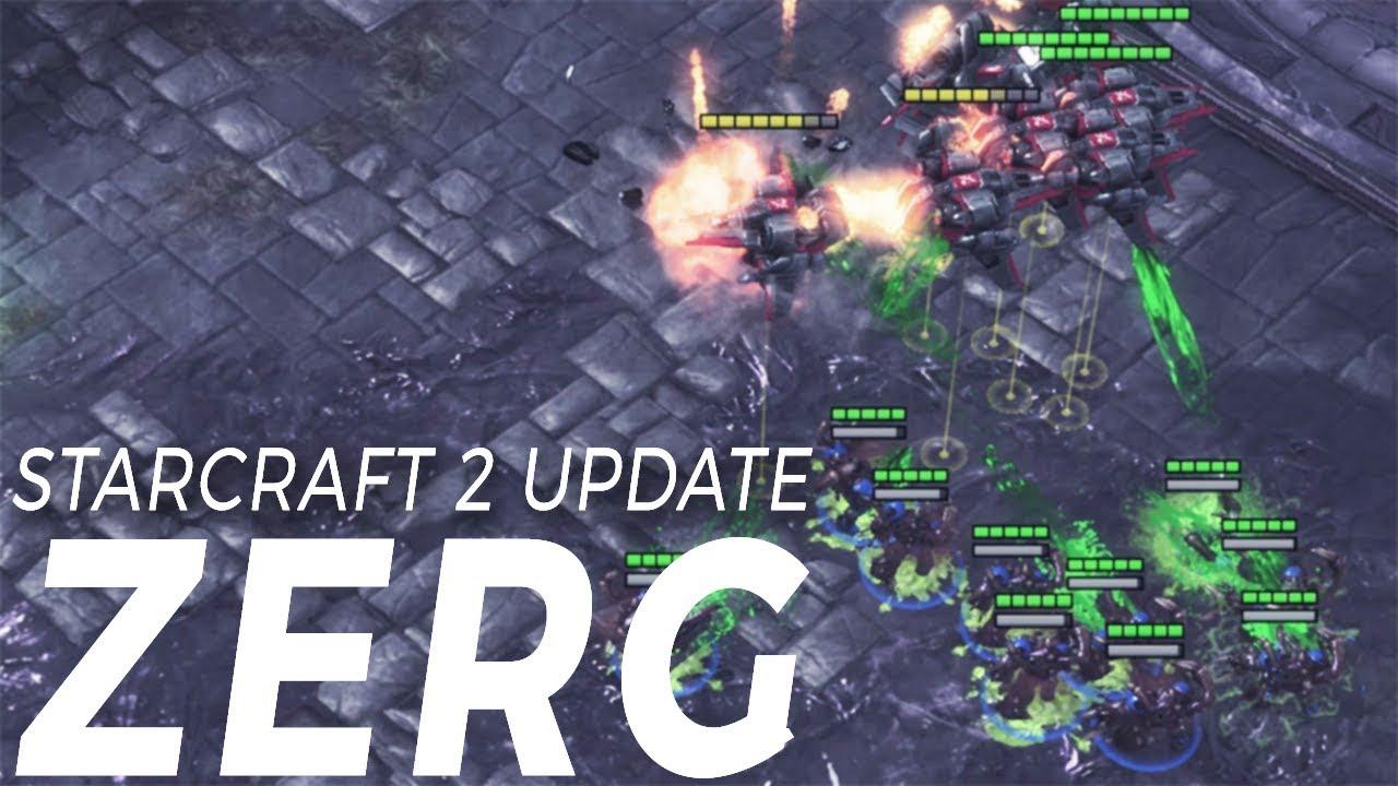 StarCraft 2: Patch 2017 - Zerg Overview