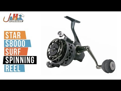 Star S8000 Surf Spinning Reel | J&H Tackle